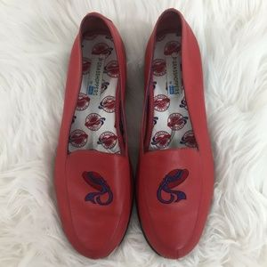 KEDS Grasshoppers Hat Society Leather Loafers Shoe